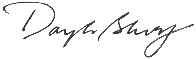 Douglas Blonsky Signature